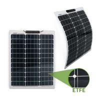 Semi-Flexibles Solarmodul ETFE Marine Monokristallin 50Wp
