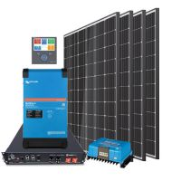 storePV 1240Wp 48V mit 3,5 kWh Lithium LiFePO4 Speicher