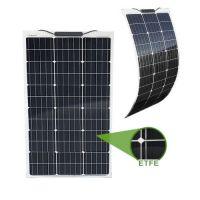 Semi-Flexibles Solarmodul ETFE Marine Monokristallin 80Wp