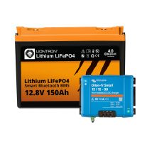 Booster Paket - LIONTRON LiFePO4 12,8V 150Ah + Victron Orion-Tr Smart 12/12-30A Ladebooster