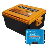 Booster Paket - LIONTRON LiFePO4 12,8V 150Ah Untersitz+ Victron Orion-Tr Smart 12/12-30A Ladebooster