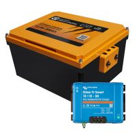 Booster Paket - LIONTRON LiFePO4 12,8V 200Ah Untersitz+ Victron Orion-Tr Smart 12/12-30A Ladebooster