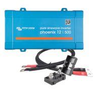 Victron Energy Phoenix 12/500 inkl. Kabel und Sicherung