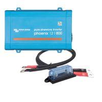 Victron Energy Phoenix 12/800 inkl. Kabel und Sicherung
