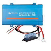 Victron Energy Phoenix 24/500 inkl. Kabel und Sicherung
