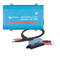 Victron Energy Phoenix 24/800 inkl. Kabel und Sicherung