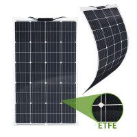 Semi-Flexibles Solarmodul ETFE Marine Monokristallin 120Wp