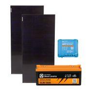 storePV 200Wp (SH) 12V mit 0,6kWh Lithium LiFePO4  Speicher