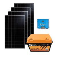 storePV 1280Wp 24V mit 2,4kWh Lithium LiFePO4  Speicher