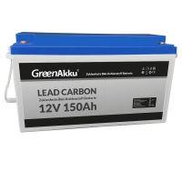 GreenAkku Zyklenfeste Lead Carbon Batterie 12V 150Ah