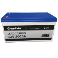 GreenAkku Zyklenfeste Lead Carbon Batterie 12V 200Ah