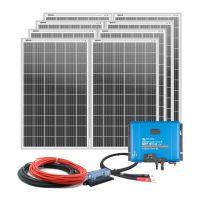 Solarpaket 2560Wp mit SmartSolar 150/45 und Anschlusskabel