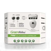 GreenAkku PWM Solarladeregler 12V 10A
