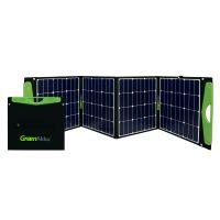 GreenAkku Solartasche 160Wp SUNPOWER