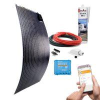 mobilPV  Doppel ETFE 195Wp Solaranlage für Wohnmobile / Wohnwagen / Boote