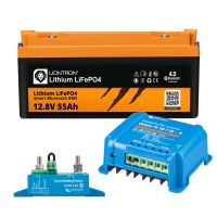 Wohnwagen Autark Starter - LIONTRON LiFePO4 12,8V 55Ah + Victron Orion-Tr 12/12-9A DC/DC-Wandler