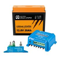 Wohnwagen Autark Starter - LIONTRON LiFePO4 12,8V 20Ah + Victron Orion-Tr 12/12-9A DC/DC-Wandler