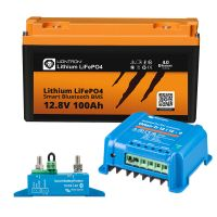 Wohnwagen Autark Starter - LIONTRON LiFePO4 12,8V 100Ah + Victron Orion-Tr 12/12-9A DC/DC-Wandler