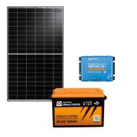 storePV 330Wp 24V mit 2,4kWh Lithium LiFePO4  Speicher