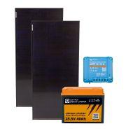 storePV 200Wp 24V mit 0,9kWh Lithium LiFePO4  Speicher
