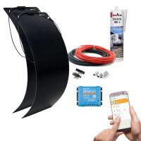 mobilPV 2x120Wp Flex Schindel Solaranlage für Wohnmobile / Wohnwagen / Boote