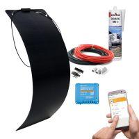 mobilPV 100Wp Flex Schindel Solaranlage für Wohnmobile / Wohnwagen / Boote