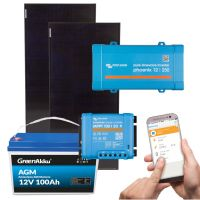 storePV Komplettpaket 200Wp Victron Phoenix 12/250