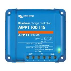 BlueSolar MPPT 100/15 Solarladeregler 12/24V 15A
