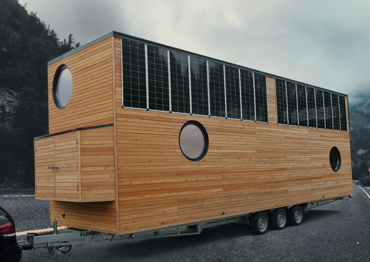 Tinyhouse - GreenAkku - Photovoltaik, Solaranlagen ...  Tinyhouse - Gre...