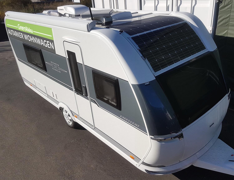 Autarker Wohnwagen - GreenAkku - Photovoltaik ...  Autarker Wohnwa...